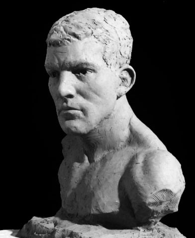 Gladiator Bust Sculpture
